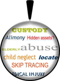 Idaho's private detective for child custody, asset tracing, locating, and elderly abuse cases, we understand sensitive family matters.